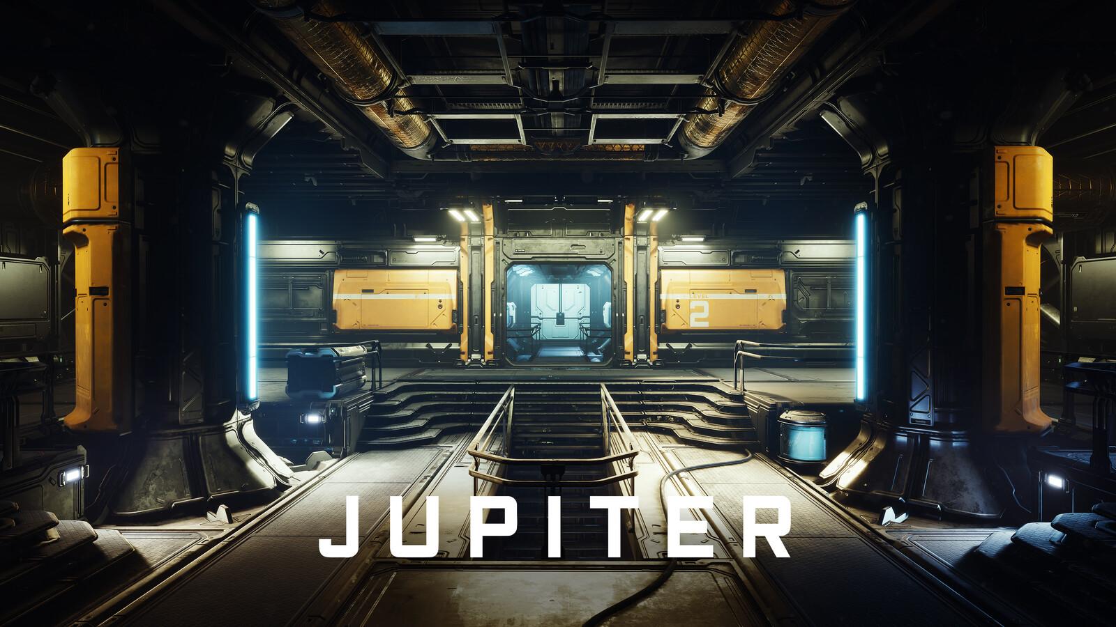 JUPITER - Sci-Fi Modular Env Kit (UE Marketplace)