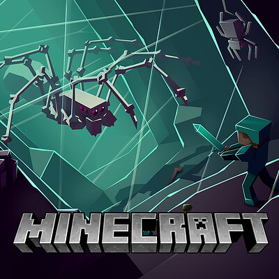 Minecraft - Spiders Web