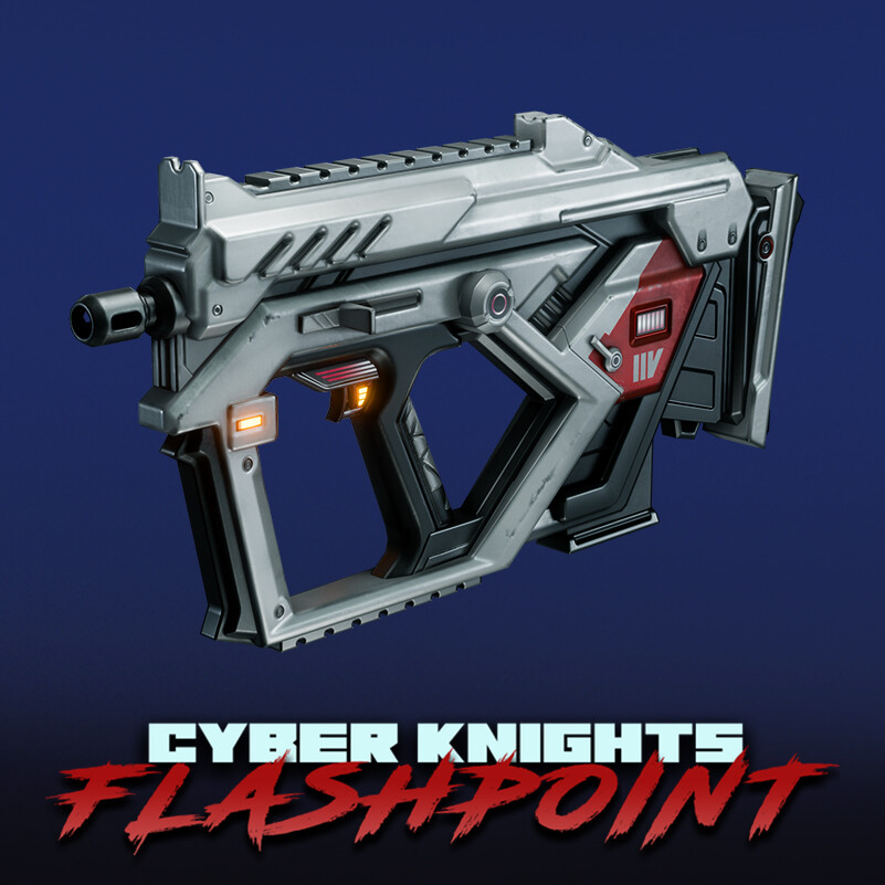 Cyber Knights: Flashpoint - Weapons (Pack #2)