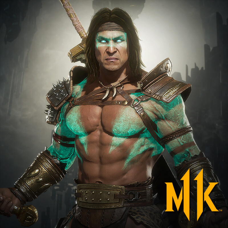 Kotal Kahn Barbarian Skin (Mortal Kombat 11)