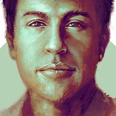 Artgentus josue plata artgentus josue plata self portrait 2