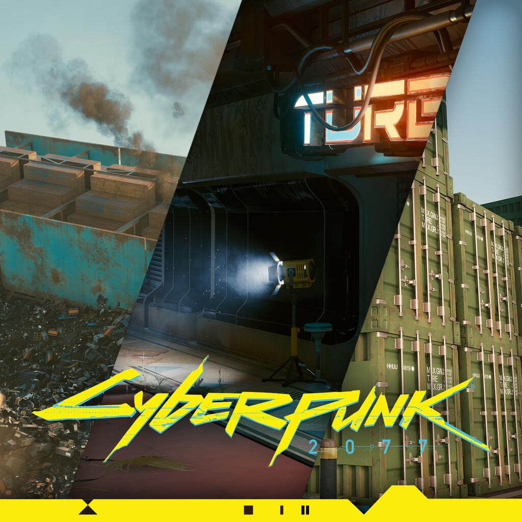 Cyberpunk 2077: Polishing, texturing, optimizing.