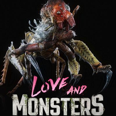 Love and Monsters 'Birdazzard' Creature Design