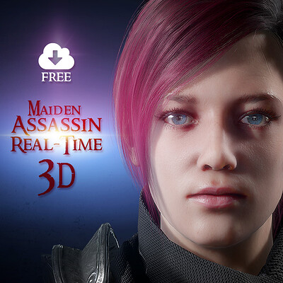 Retrostyle games retrostyle games maiden assassin female 3d character real time featured name