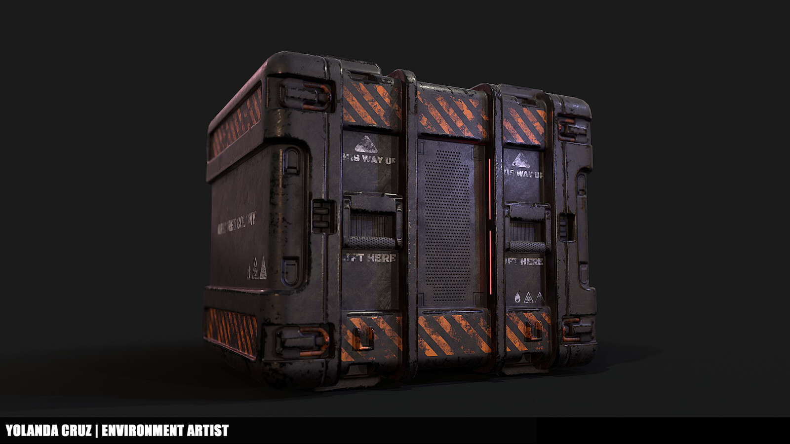 Sci-Fi Box Prop