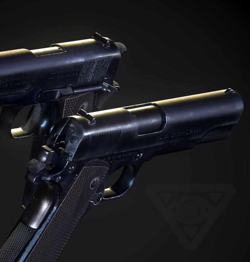 Colt 1911A1 (Remastered)