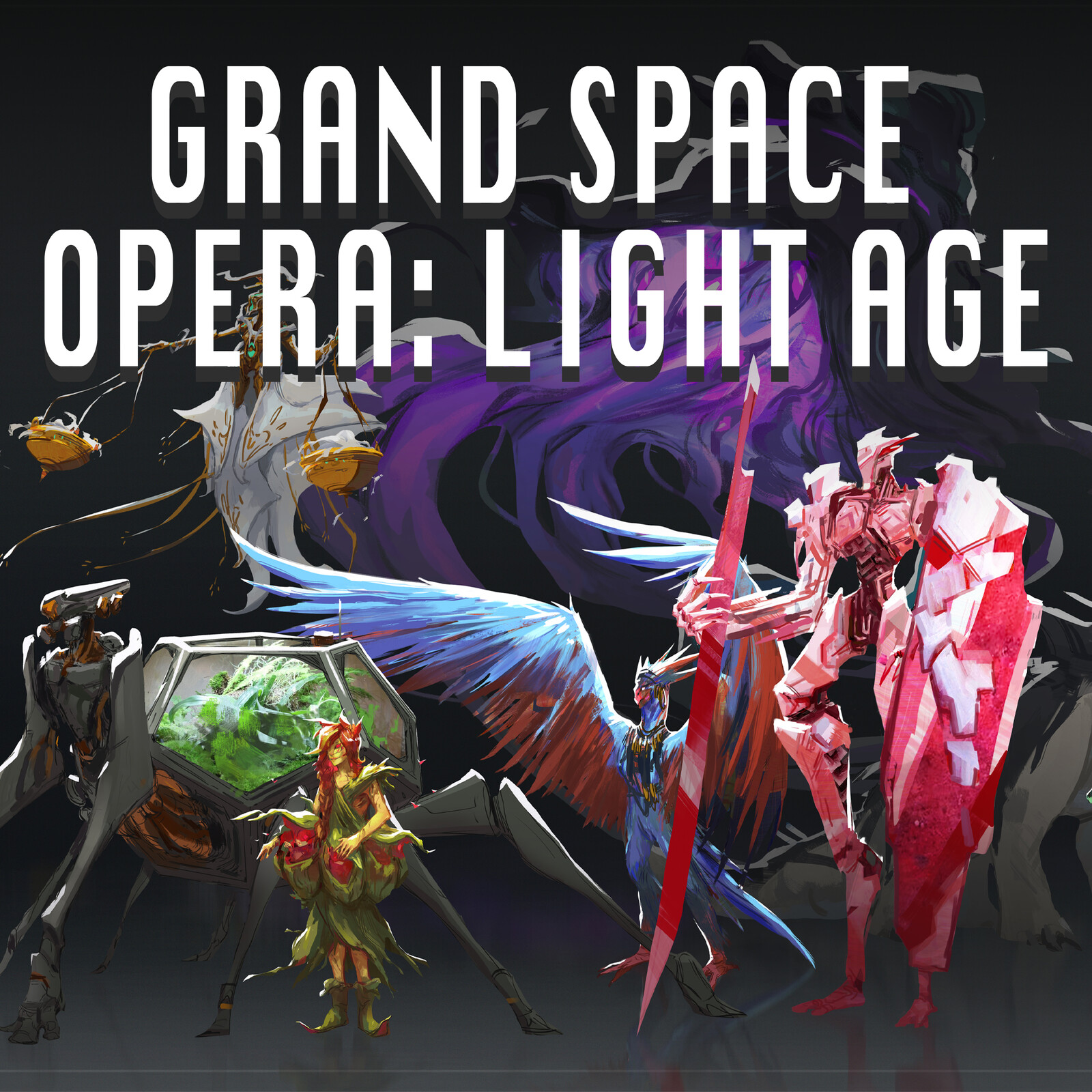 Grand Space Opera: Light Age Character Design