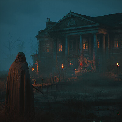 The Albert Manor (UE4) - Night