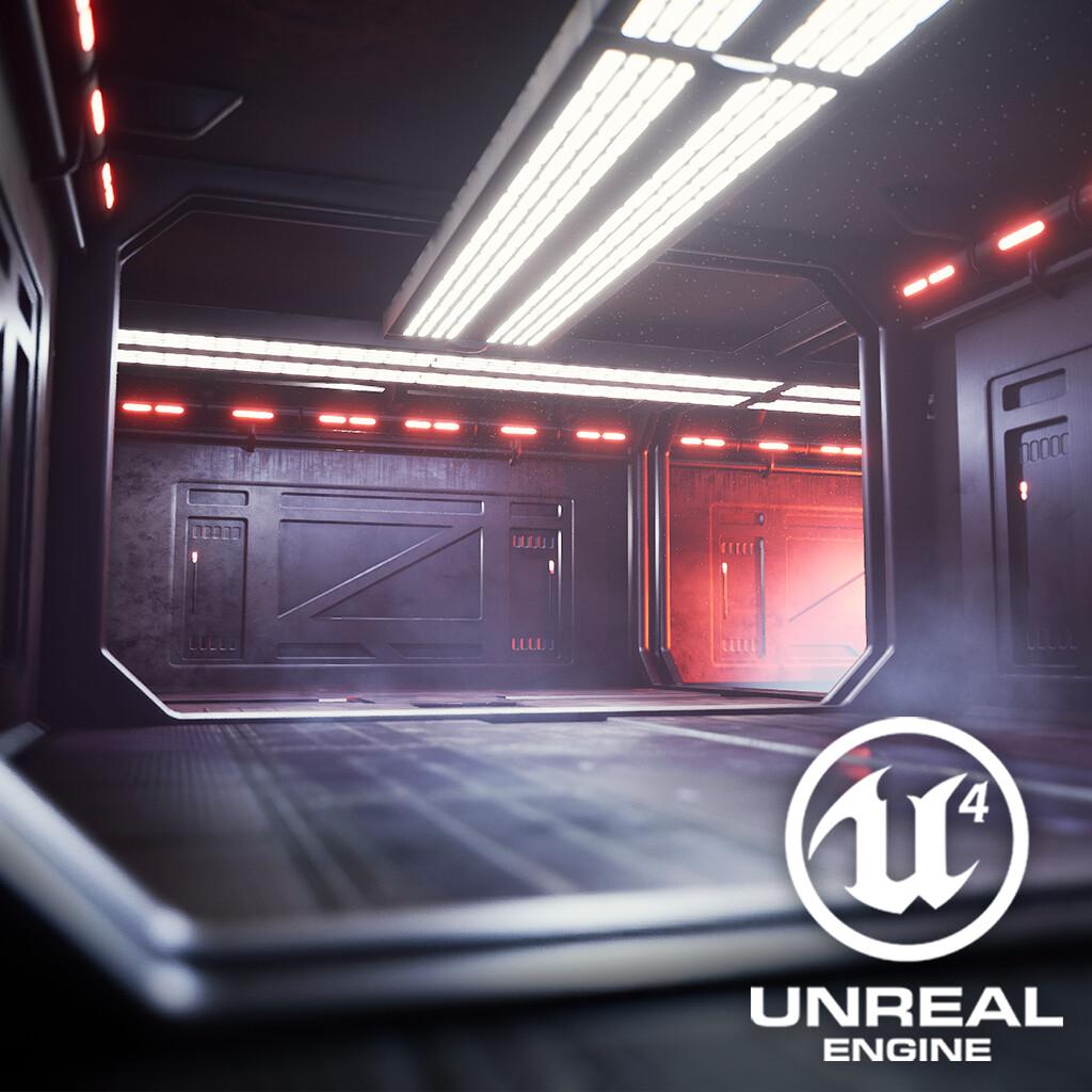 Star Wars Corridor