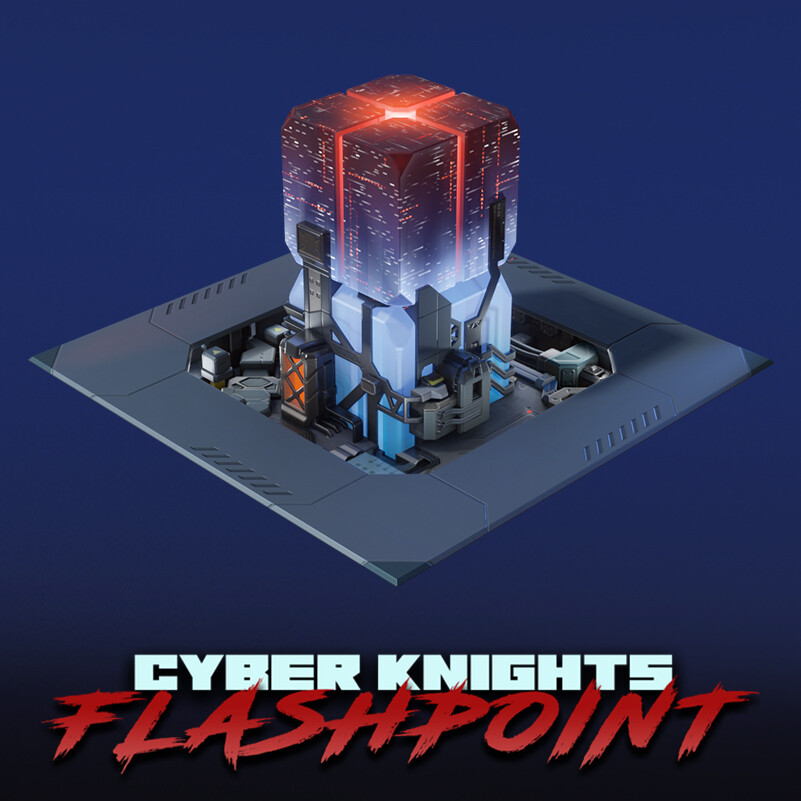 Cyber Knights: Flashpoint - DataLab Props