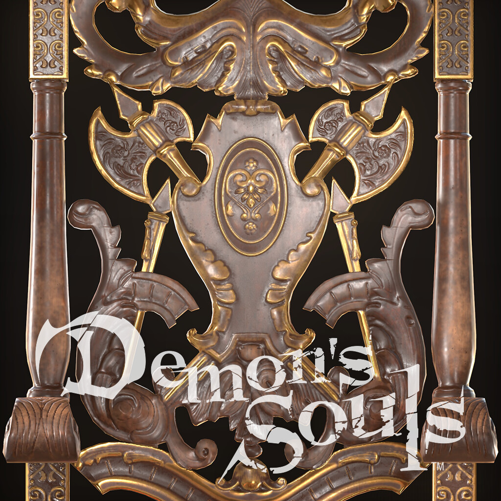 Demon's Souls Royal Chair