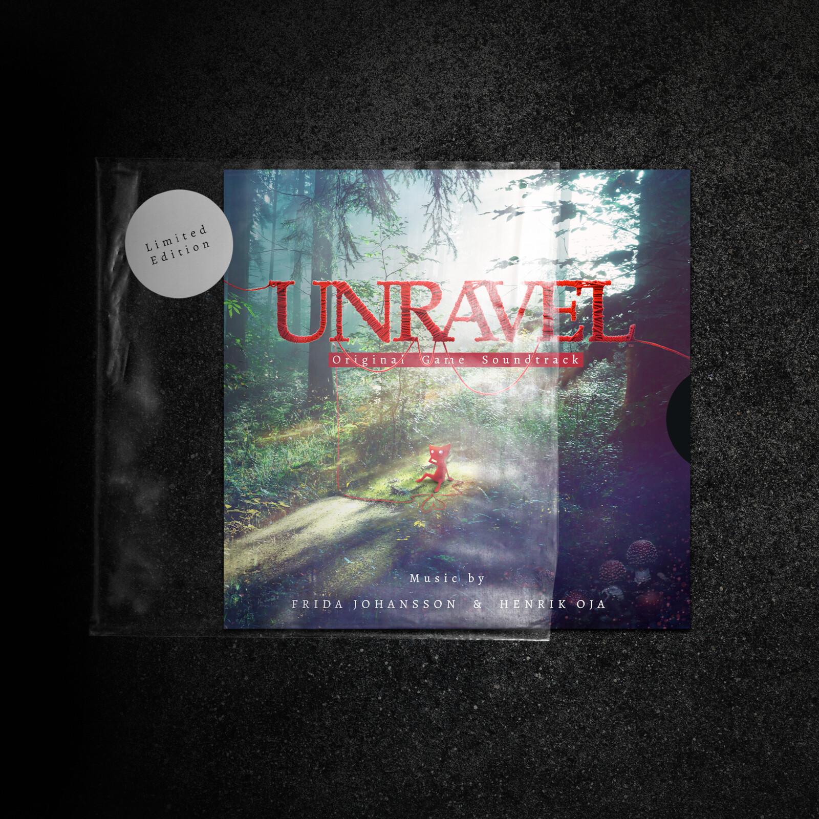 Unravel - Limited edition EP (Personal work)