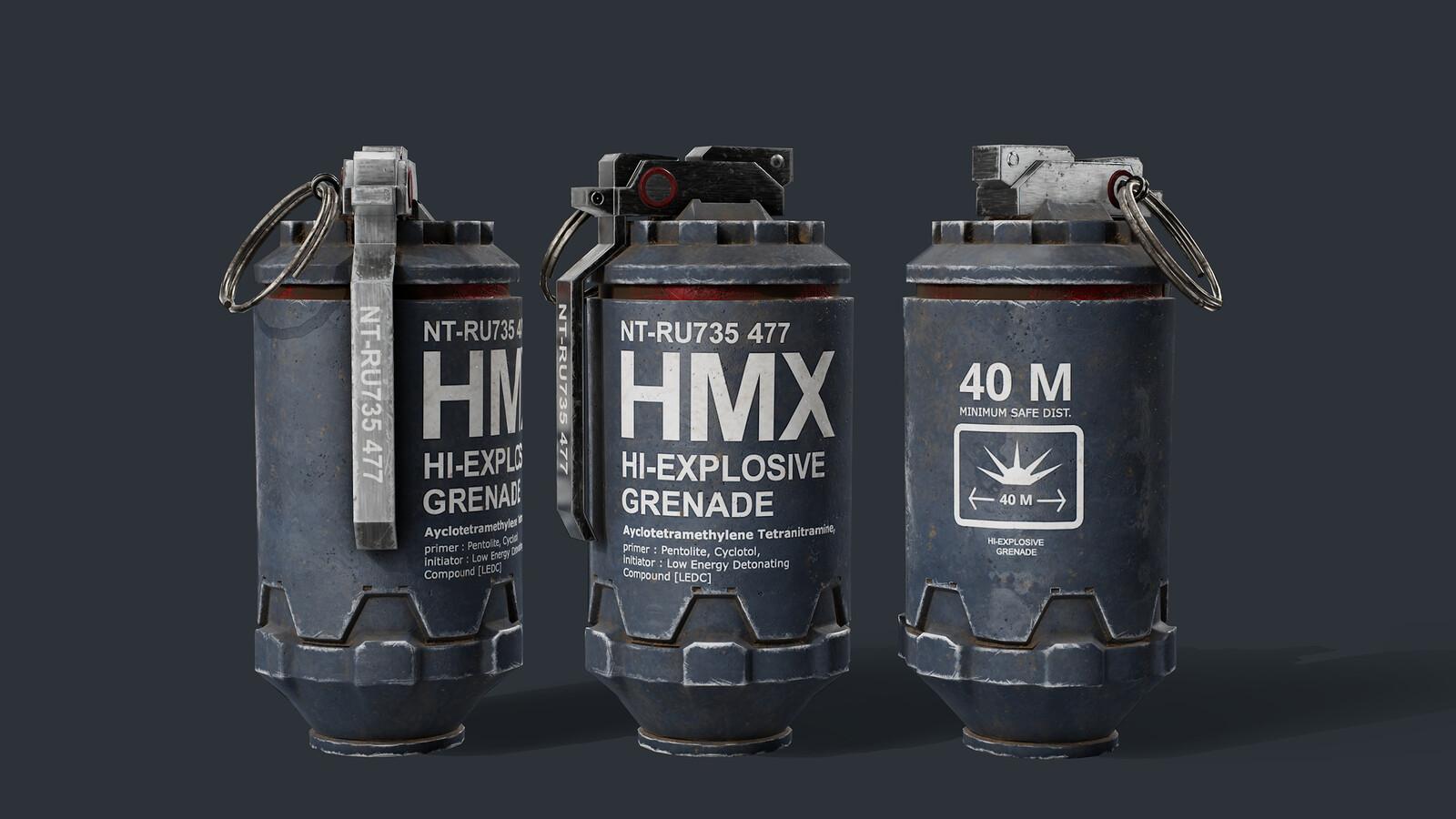 hmxGrenade