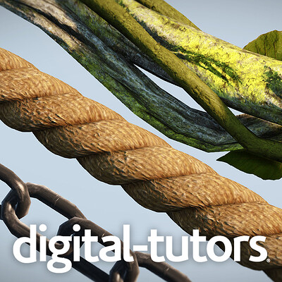 Digital Tutors: Creating Game-Ready Chains, Ropes, and Vines in Maya and UDK