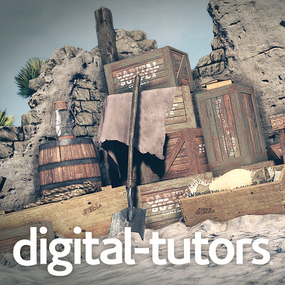 Digital Tutors: Real-Time Environment Materials and Textures in UDK