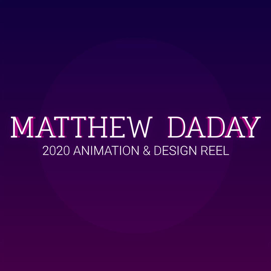 2020 Design & Animation Reel
