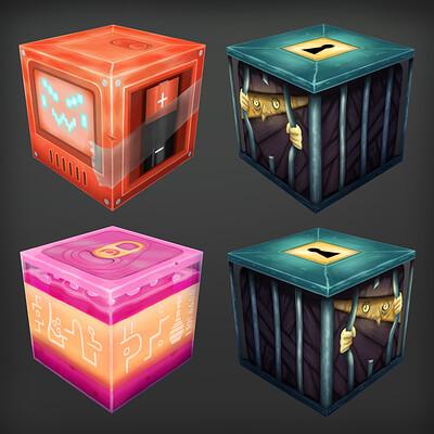 Stylised Cubes - CGMA