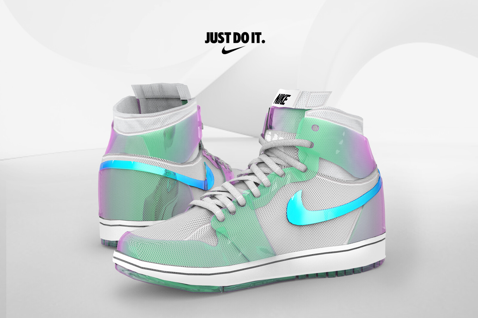 Nike Concept Product Visualization