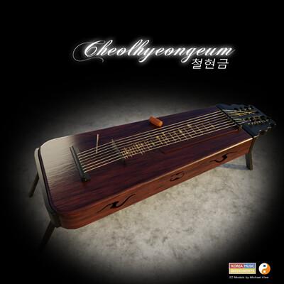 Michael klee michael klee cheolhyeongeum 3d korea music instruments by michael klee
