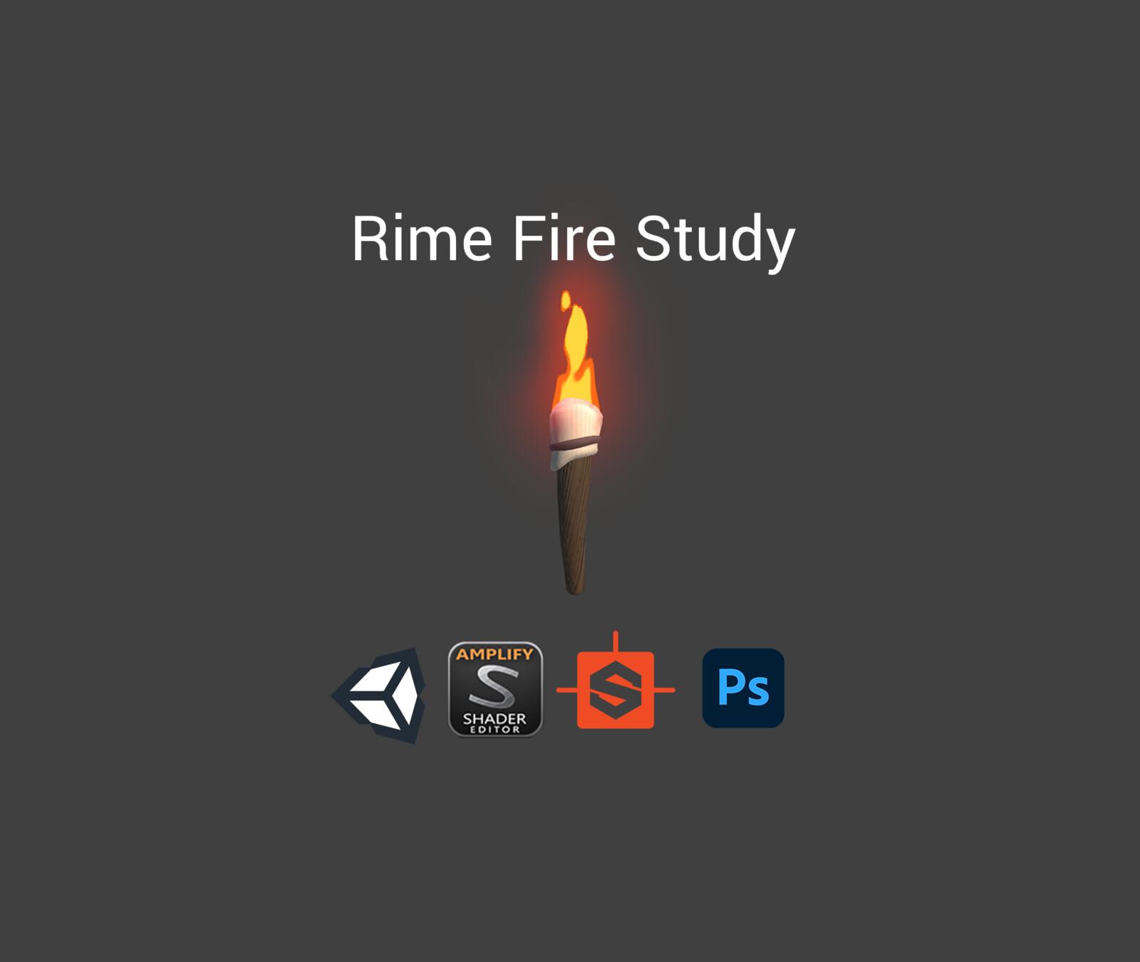 Rime Fire Study   VFX + Breakdown