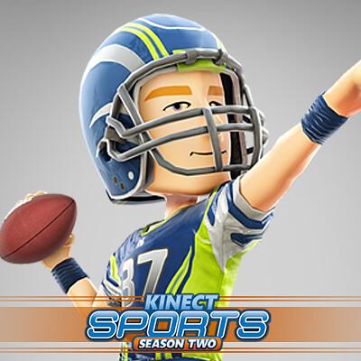 Tim turner 3d tim turner 3d kinect sports american footballer thumbnail