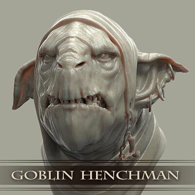 Tim turner 3d tim turner 3d goblin henchman bust thumbnail