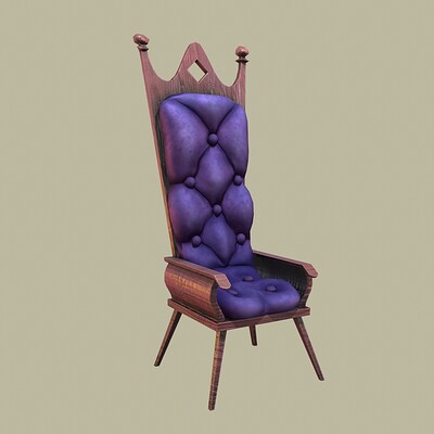 Dmitry tamko dmitry tamko purple chair viewport