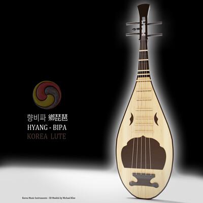 Michael klee michael klee hyang bipa korea instruments 3d model by michael klee