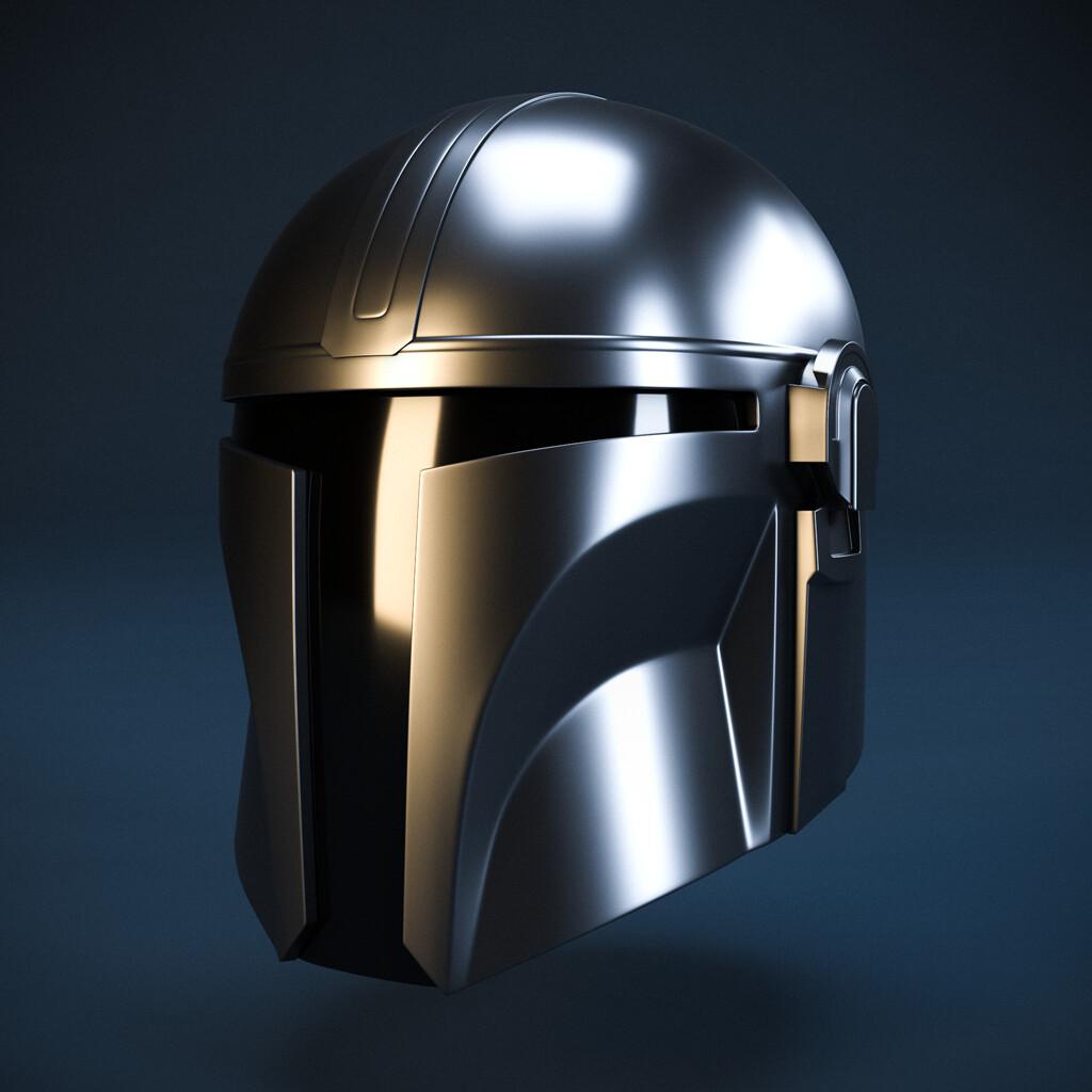 Mandalorian Helmet