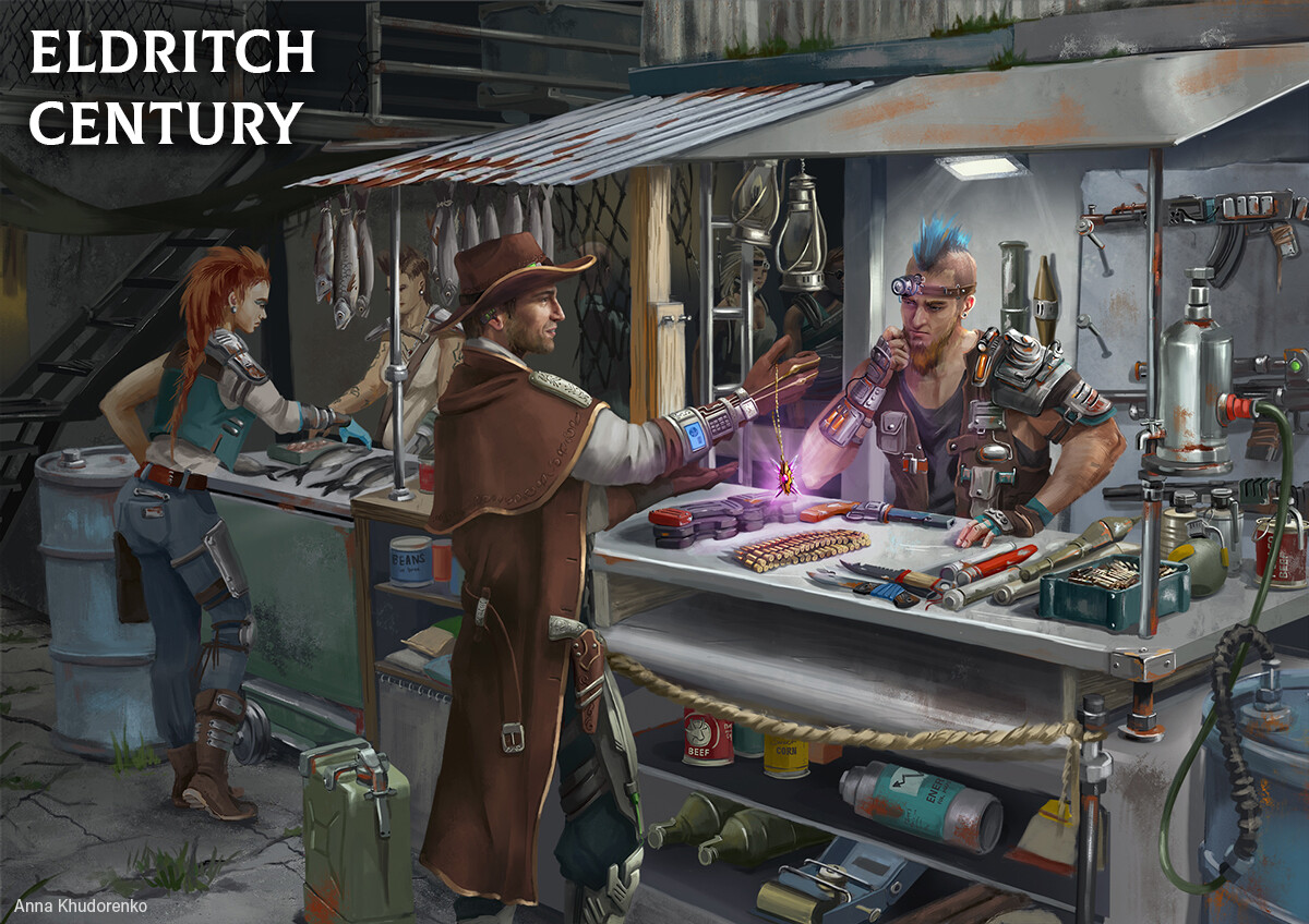 Eldritch Century: Resource check