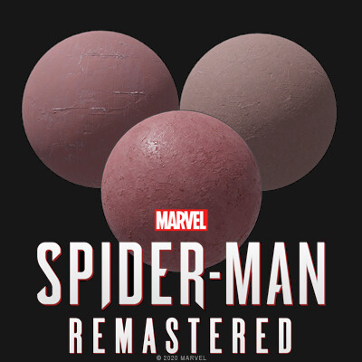 Spiderman Remastered - Materials