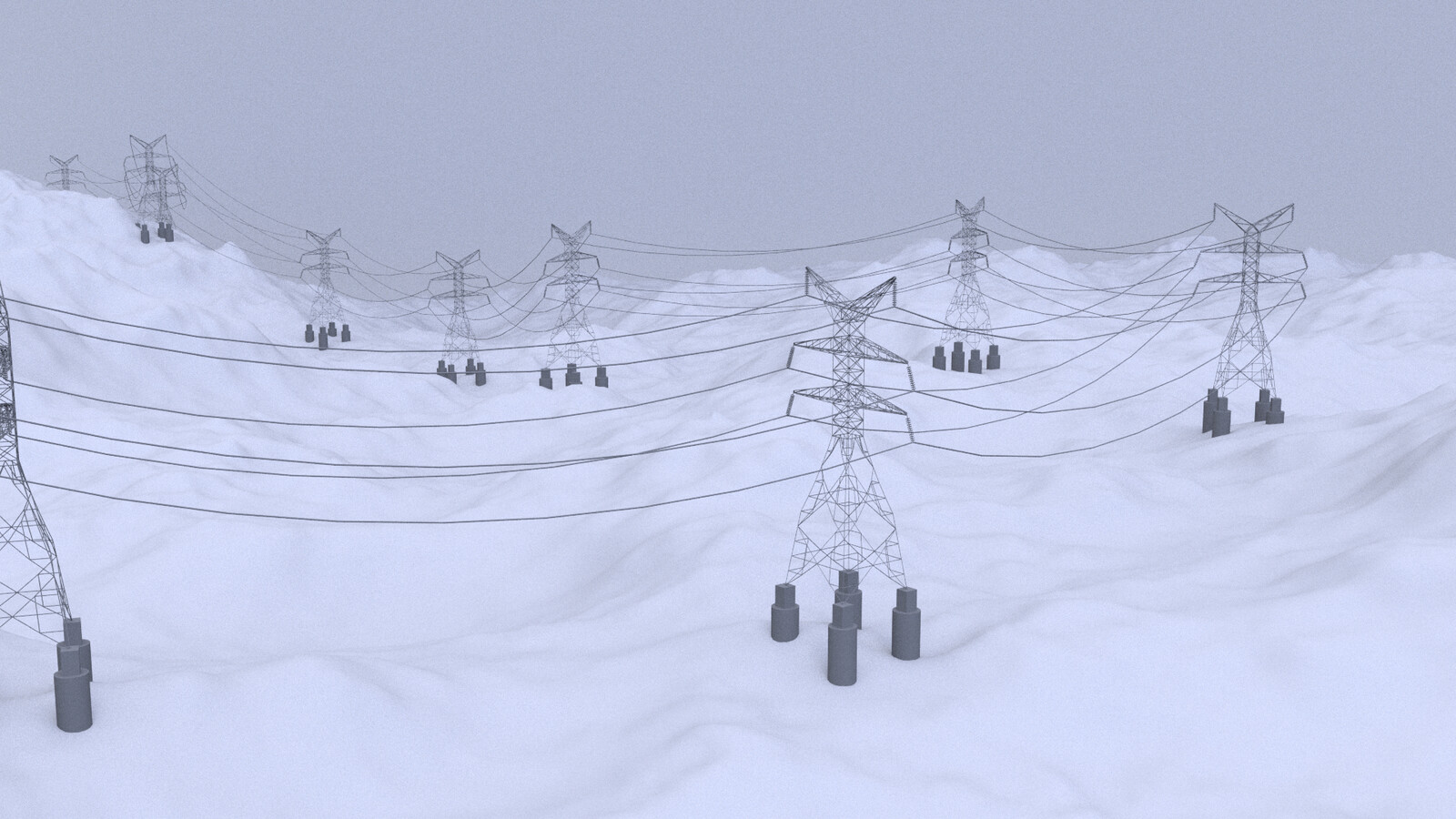 Procedural Modelling: Transmission Towers