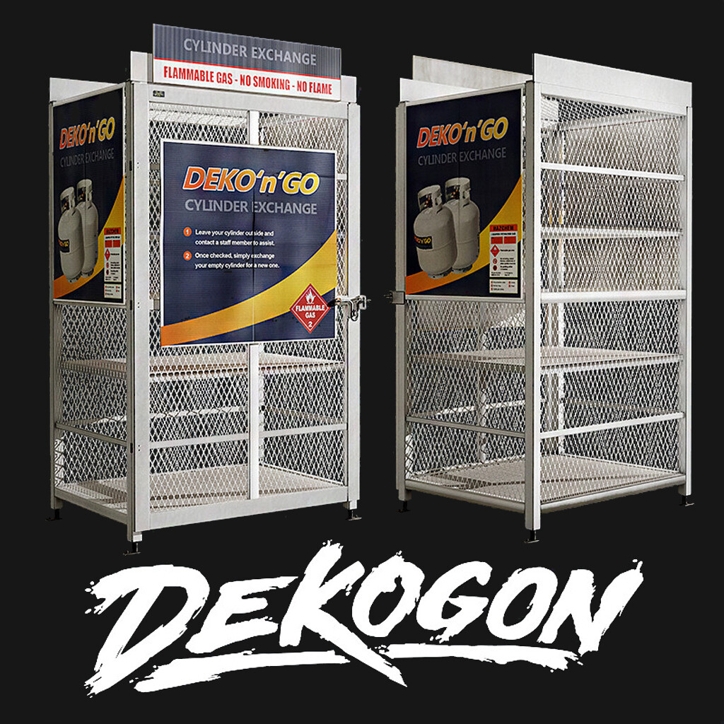 Dekogon - Propane Tank Holder