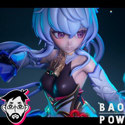 Baopow baopow ganyu artstation thumbnail