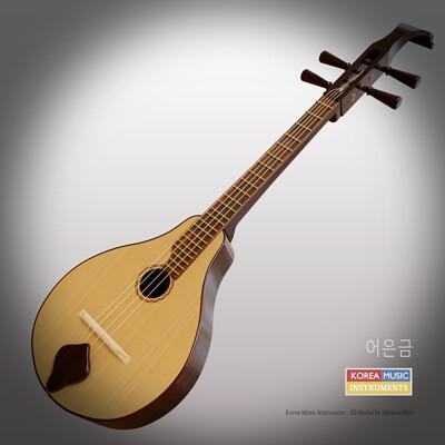 Michael klee michael klee korea string instrument 3d models by michael klee