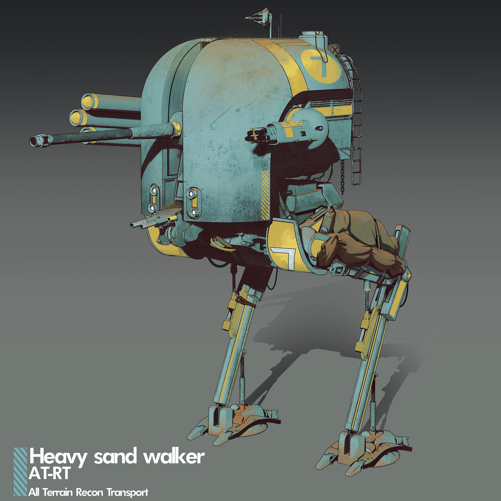 Heavy Sand Walker