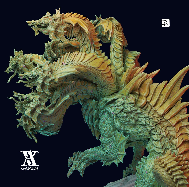Godstruck Laernea Hydra King