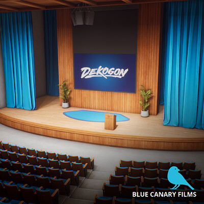 Blue Canary Theatre (UE4)