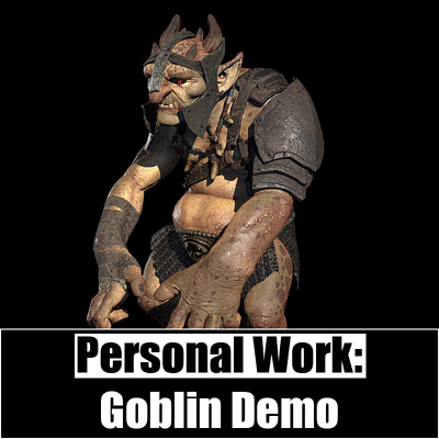 Personal Work:  Goblin