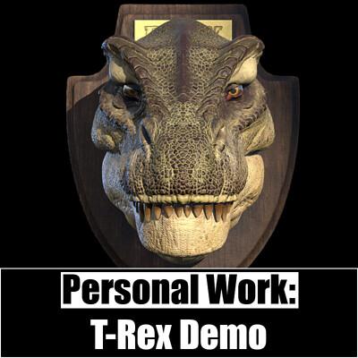 Personal Work:  Mounted Rex