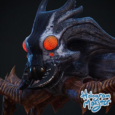 Hologram monster studio hologram monster studio bug thumb
