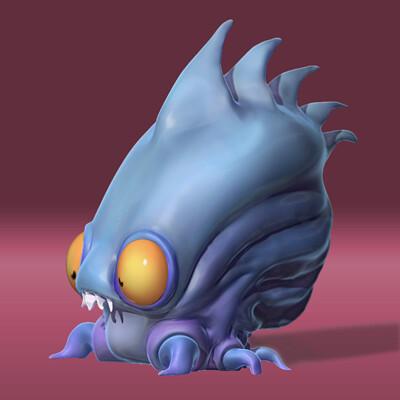 Maayane fye odou maayane fye odou squid render full color