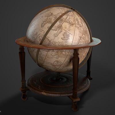Hw lee hw lee globe render01