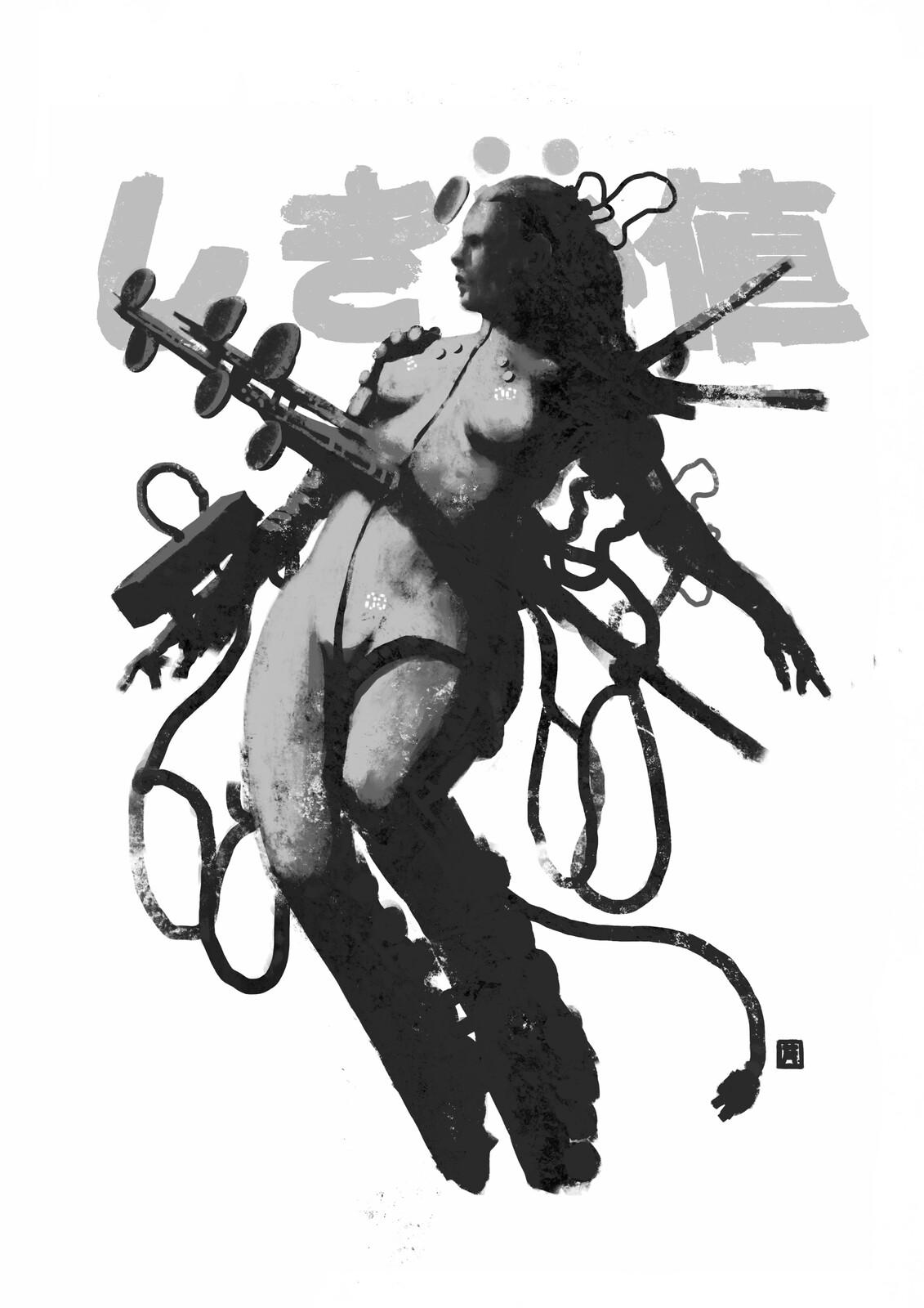 Beyönd: Lady Radio-Antenhä//Prototype//Mk-00