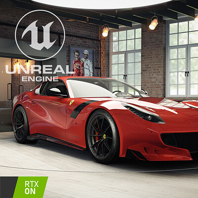 JWW's F12 Tdf - Unreal Engine 4