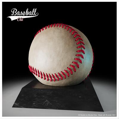 Michael klee michael klee baseball old 3d model by michael klee 2021