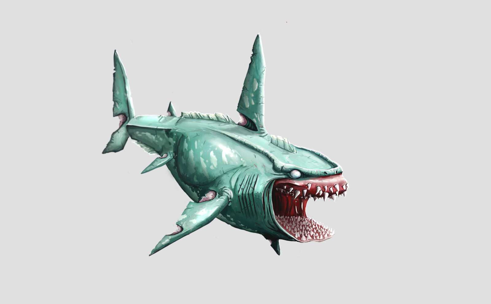 LOST PREHISTORICS - Shark Concept