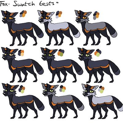 Tamar olchik tamar olchik fox swatch tests