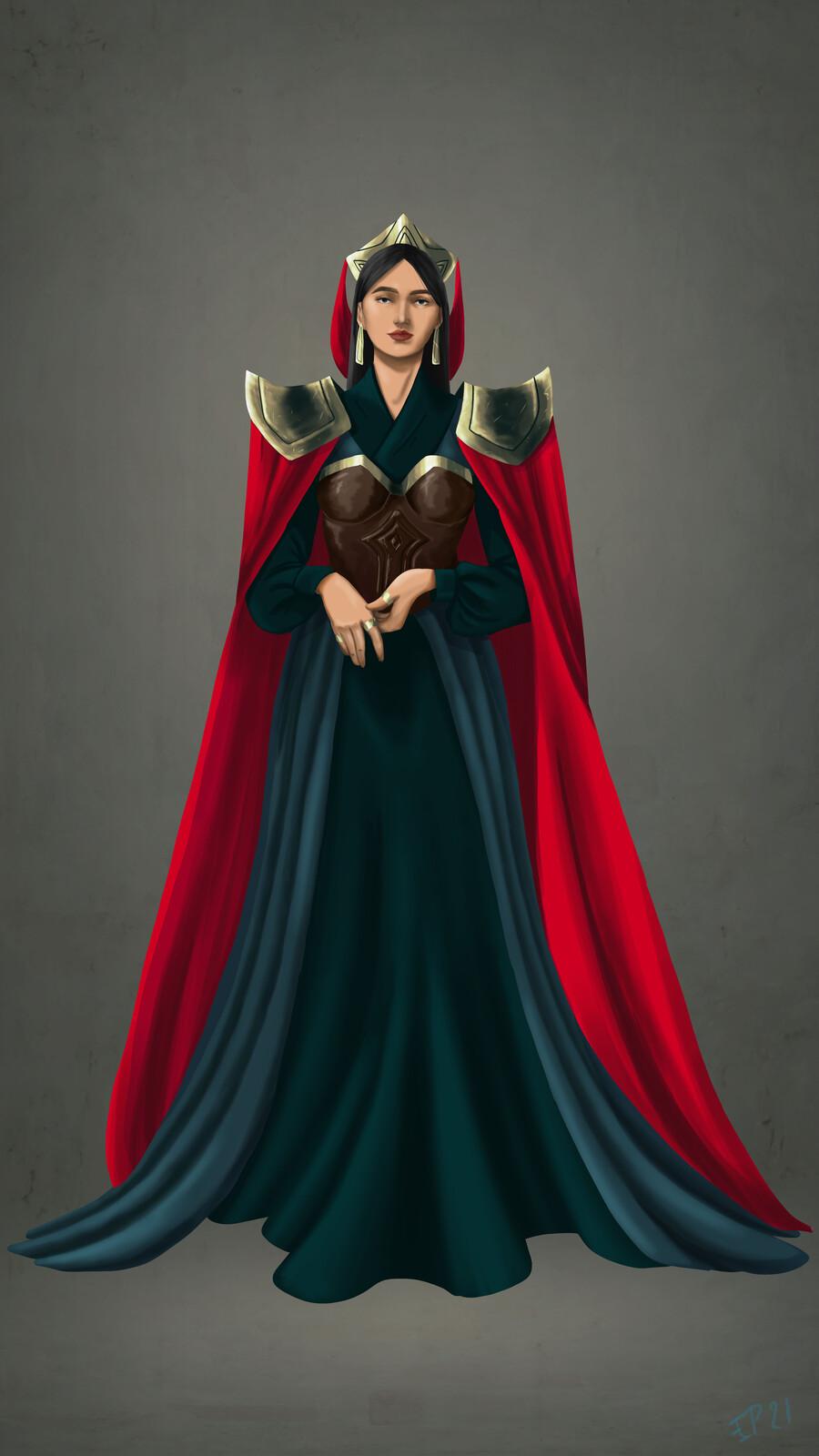 Queen Character Design