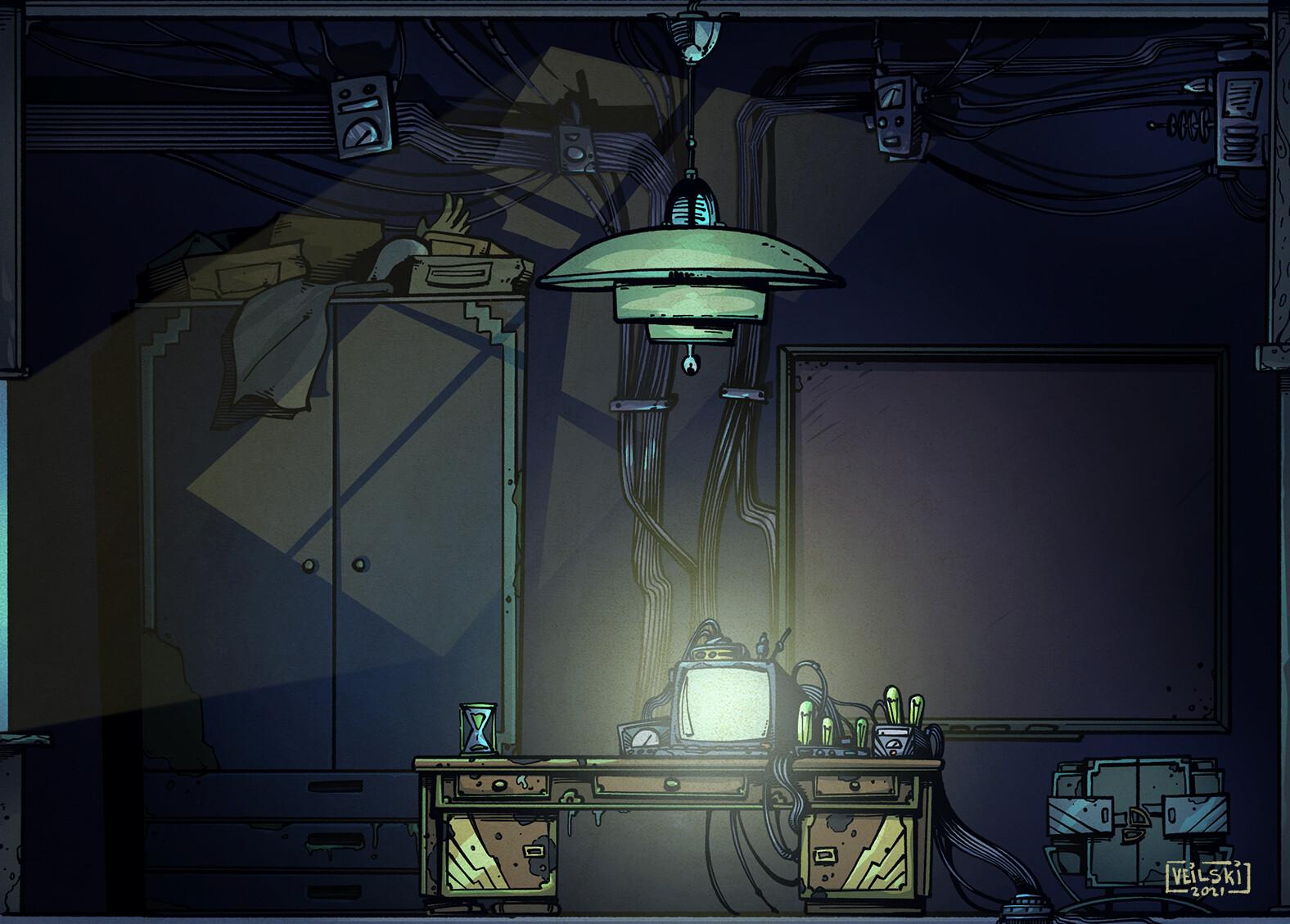 Occultputer pt.1 - Home office